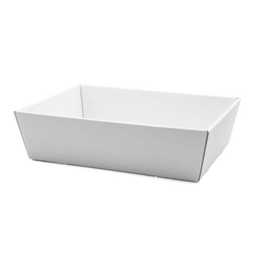 Koszyk na prezenty W19 biały, 24 x 34cm