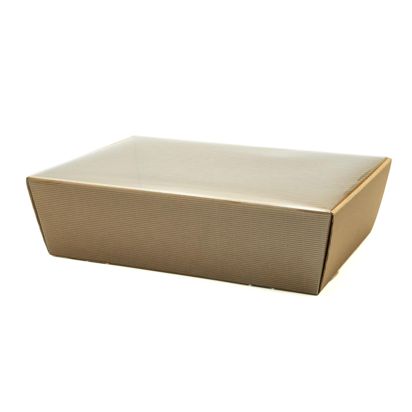 Koszyk na prezenty z przykryciem W19 eco, 24 x 34cm